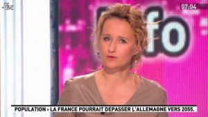 Caroline Roux dans la Matinale - 29/03/12 - 02