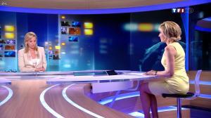 Laurence Ferrari et Evelyne Dhéliat au JT de 20h - 30/04/12 - 02