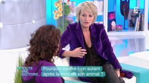Sophie Davant dans Toute une Histoire - 03/02/12 - 06