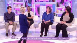 Sophie Davant dans Toute une Histoire - 13/02/12 - 09