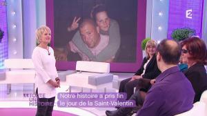 Sophie Davant dans Toute une Histoire - 14/02/12 - 08