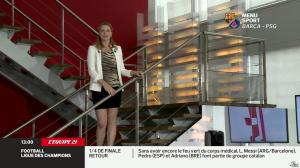 France Pierron dans Menu Sport - 10/04/13 - 06