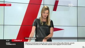 France Pierron dans Menu Sport - 17/06/13 - 11