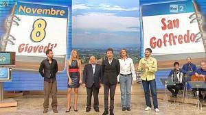 Adriana Volpe dans I Fatti Vostri - 08/11/12 - 02