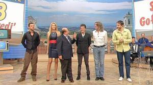 Adriana Volpe dans I Fatti Vostri - 08/11/12 - 03