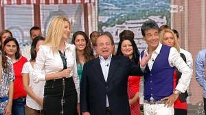 Adriana Volpe dans I Fatti Vostri - 19/09/11 - 04