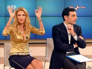 Adriana Volpe dans Mattina in Famiglia - 26/01/08 - 06