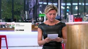 Anne-Sophie Lapix dans C à Vous - 04/10/13 - 01