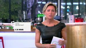 Anne-Sophie Lapix dans C à Vous - 04/10/13 - 03