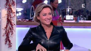 Anne-Sophie Lapix dans C à Vous - 13/12/13 - 08