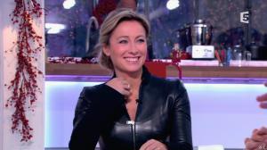 Anne-Sophie Lapix dans C à Vous - 13/12/13 - 10