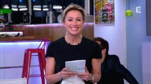 Anne-Sophie Lapix dans C à Vous - 28/02/14 - 02