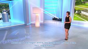 Estelle Denis lors du Tirage du Loto - 14/06/14 - 03
