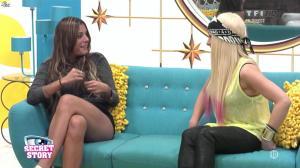 Florine et Anaïs dans Secret Story - 23/08/13 - 10