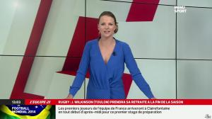 France Pierron dans Menu Sport - 19/05/14 - 04