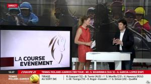 France Pierron dans Menu Sport - 23/05/14 - 08
