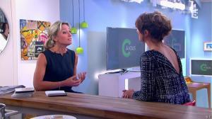 Géraldine Nakache et Anne-Sophie Lapix dans C à Vous - 18/06/14 - 02