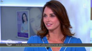 Julia Vignali dans C à Vous - 30/05/14 - 03