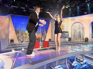 Michelle Hunziker dans Striscia la Notizia - 12/02/08 - 07