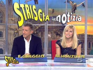 Michelle Hunziker dans Striscia la Notizia - 12/02/08 - 22