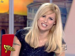 Michelle Hunziker dans Striscia la Notizia - 12/02/08 - 32