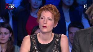 Natacha Polony dans On n'est pas Couché - 05/04/14 - 13