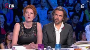 Natacha Polony dans On n'est pas Couché - 05/04/14 - 18