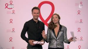 Natasha Saint Pier dans la télé Chante Pour le Sidaction - 05/04/14 - 08