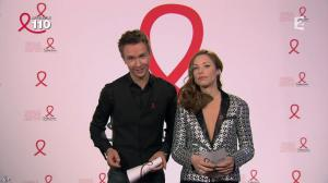 Natasha Saint Pier dans la Télé Chante Pour le Sidaction - 05/04/14 - 09