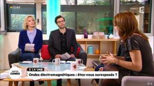 Valérie Durier dans la Quotidienne - 08/01/14 - 10