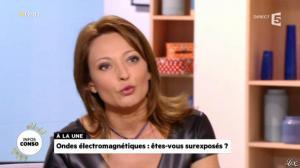 Valérie Durier dans la Quotidienne - 08/01/14 - 12