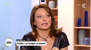 Valérie Durier dans la Quotidienne - 08/01/14 - 17