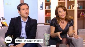 Valérie Durier dans la Quotidienne - 08/01/14 - 18