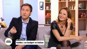 Valérie Durier dans la Quotidienne - 08/01/14 - 19