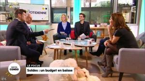Valérie Durier dans la Quotidienne - 08/01/14 - 20