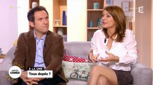 Valérie Durier dans la Quotidienne - 12/11/13 - 02
