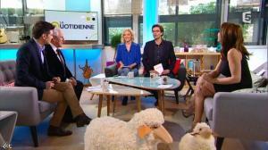 Valérie Durier dans la Quotidienne - 14/03/14 - 07