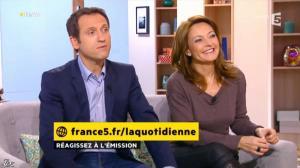 Valérie Durier dans la Quotidienne - 19/02/14 - 02