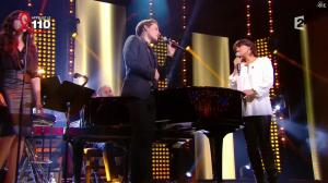 Valérie Expert dans la télé Chante pour le Sidaction - 05/04/14 - 01