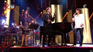 Valérie Expert dans la Télé Chante pour le Sidaction - 05/04/14 - 03