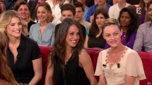 Vanessa Paradis et Alice Belaidi dans Vivement Dilmanche - 04/05/14 - 03