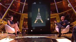 Alessandra Sublet dans Un Soir à la Tour Eiffel - 13/05/15 - 10