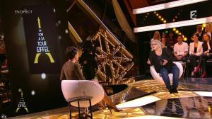 Alessandra Sublet dans Un Soir à la Tour Eiffel - 25/03/15 - 01