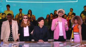 Alison Wheeler dans le Grand Journal de Canal Plus - 23/01/15 - 04
