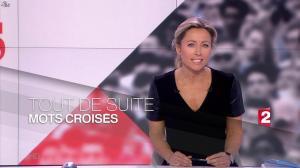 Anne-Sophie Lapix dans Mots Croises - 13/04/15 - 01