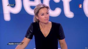 Anne-Sophie Lapix dans Mots Croises - 13/04/15 - 03