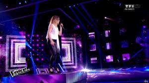 Camille Lellouche dans The Voice - 18/04/15 - 02