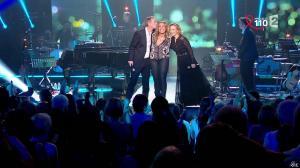 Caroline Roux et Chimène Badi dans la télé Chante pour le Sidaction - 28/03/15 - 02