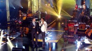 Cristina Cordula dans la Télé Chante pour le Sidaction - 28/03/15 - 02