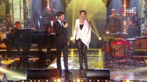Cristina Cordula dans la télé Chante pour le Sidaction - 28/03/15 - 03